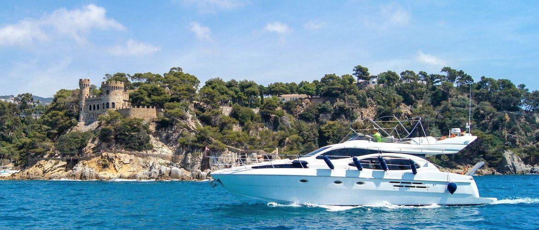 charter yacht costa brava