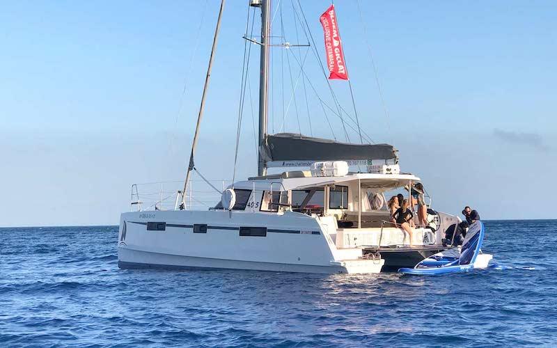 Alquiler catamarán Costa Brava
