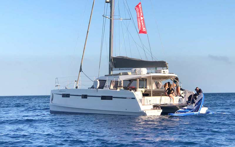 Catamaran location Costa Brava Girona