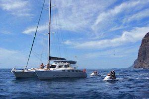 Catamaran Marhaba Los Gigantes, excursiones en barco en el sur de Tenerife