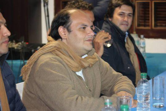 Precandidato Gustavo Saadi, Gustavo Saadi Ministro de Gobierno