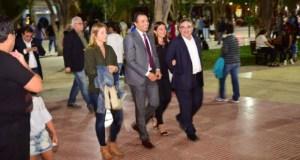 Raul Jalil, diputada nacional Silvana Ginocchio, Santa Maria, Intendente Juan Pablo Sanchez