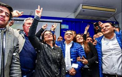 Lucia Corpacci, Gustavo Saadi, Raul Jalil, elecciones PASO 2019