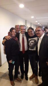 Cynthia Gambarella, Raul Jalil, Ruben Dusso
