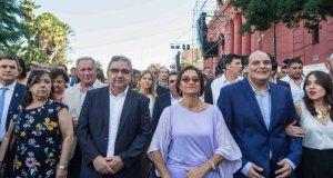Cecilia Guerrero, Ruben Dusso, Raul Jalil, Lucia Corpacci, Gustavo Saadi