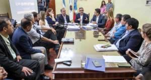 Raul Jalil, Jorge Moreno, Susana Peralta, Intendentes