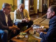 Raul Jalil, Ruben Dusso, Fidel Saenz