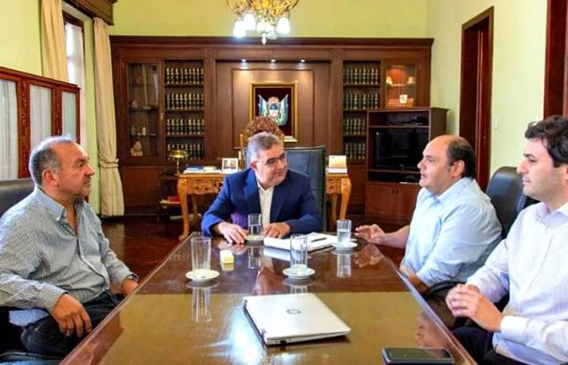 Raul Jalil, Gustavo Saadi, Gustavo Aguirre, Jorge Moreno