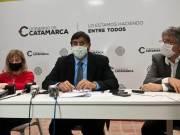 Ministra Claudia Palladino, Ministro Hernan Martel, Ministro Guillermo Andrada