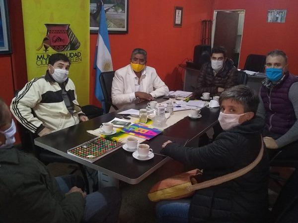 Intendente Daniel Rios, Daniel Telchi Rios, COE Belen,