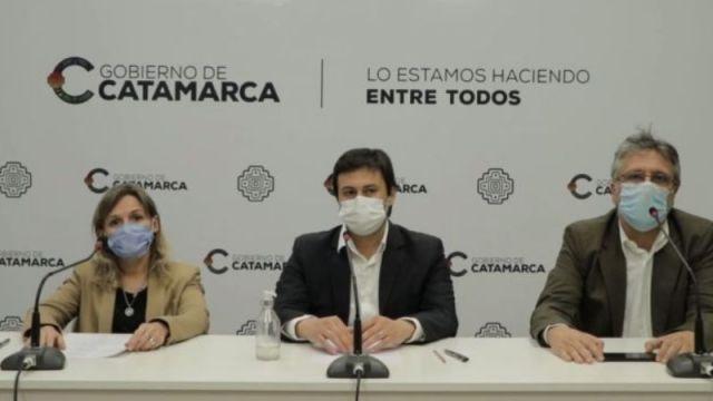 Coe Catamarca, Claudia palladino, Gustavo Aguirre, Guillermo joao Andrada