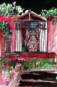 Weekly Sketch – Inky Pompeii – 16/02/2013