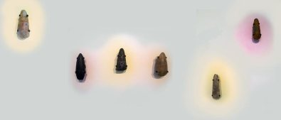 Neolithic flint axe heads