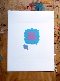 Anenome second colour printed © Catherine Cronin