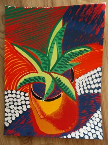 Aloe, gouache © Catherine Cronin