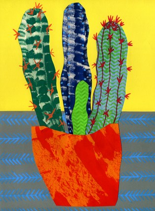 Cactus Collage (© Catherine Cronin)