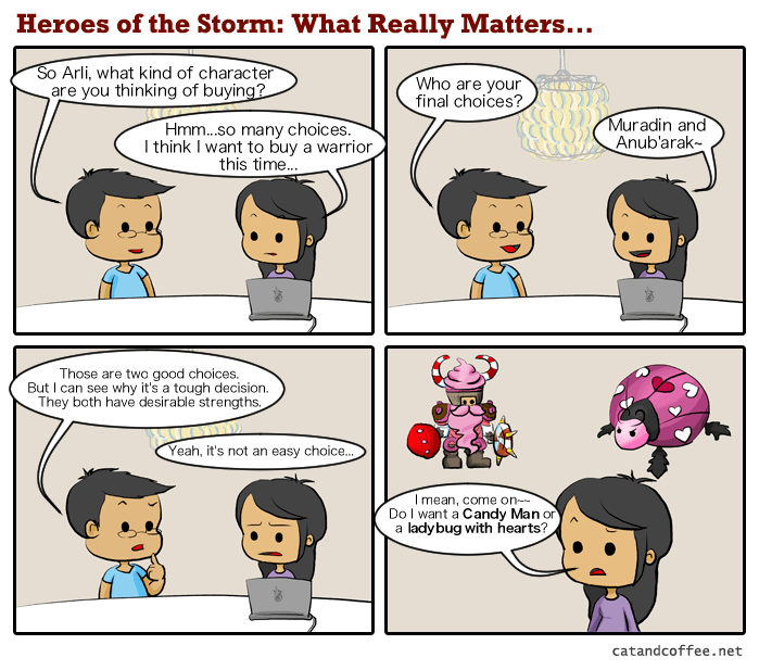 Heroes of the Storm – What Really Matters…