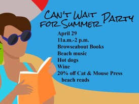 Can't Wait for Summer Beach Party April 29