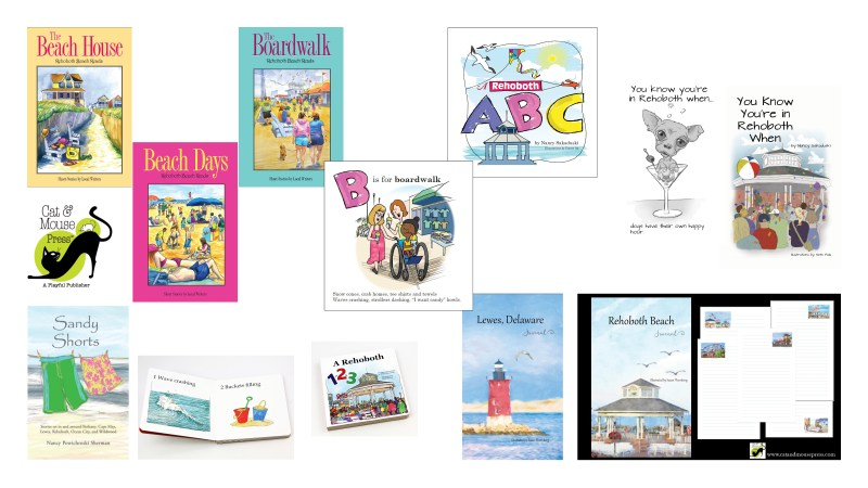 Illustrations from Cat & Mouse Press books