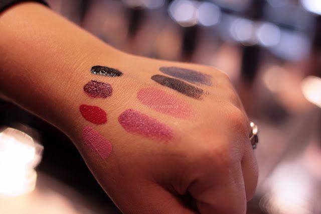 kat von d lipstick swatches