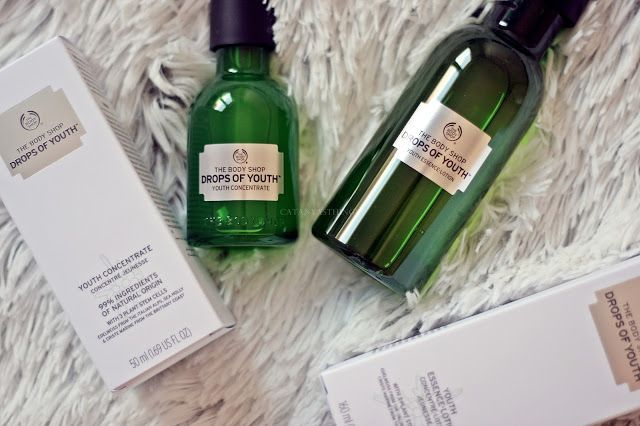 the body shop drops of youth youth concentrate essence lotion review opiniones precio