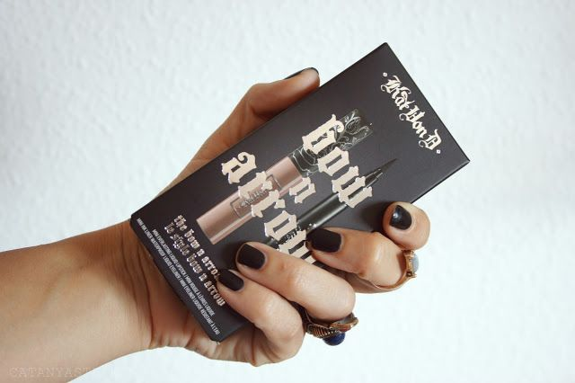 the bow n arrow look, kat von d, sephora españa, oviedo, beauty bloggers, swatches kat von d