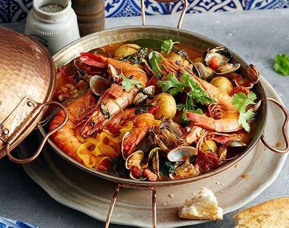 Muschel Chorica Cataplana