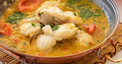 Monkfish Cataplana (Tamboril)