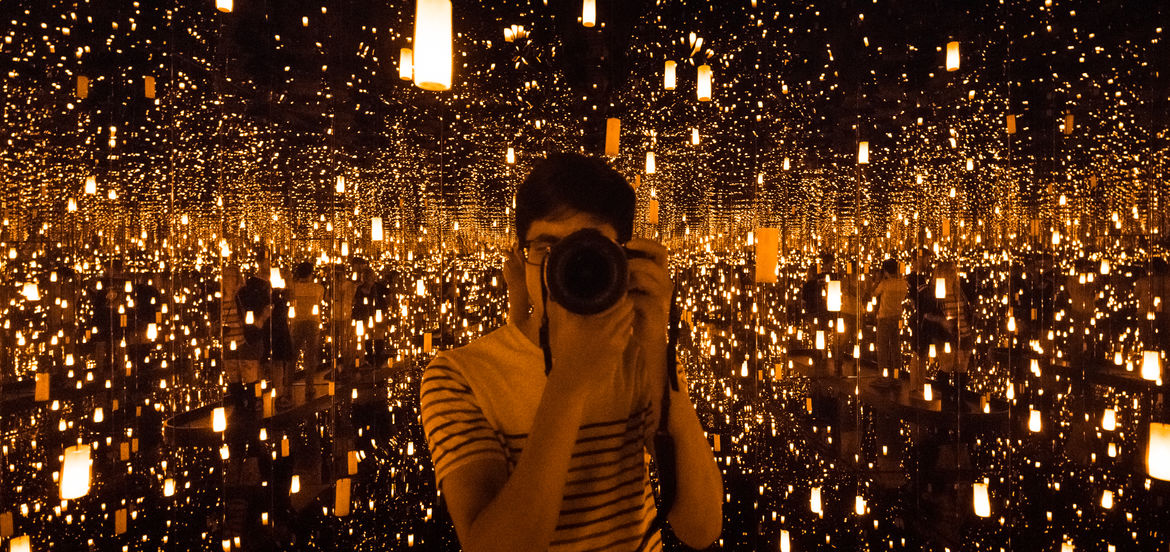"A Moment Spins on the Axis of You: The Fourth Dimension of Yayoi Kusama's ""Infinity Mirrors"" 