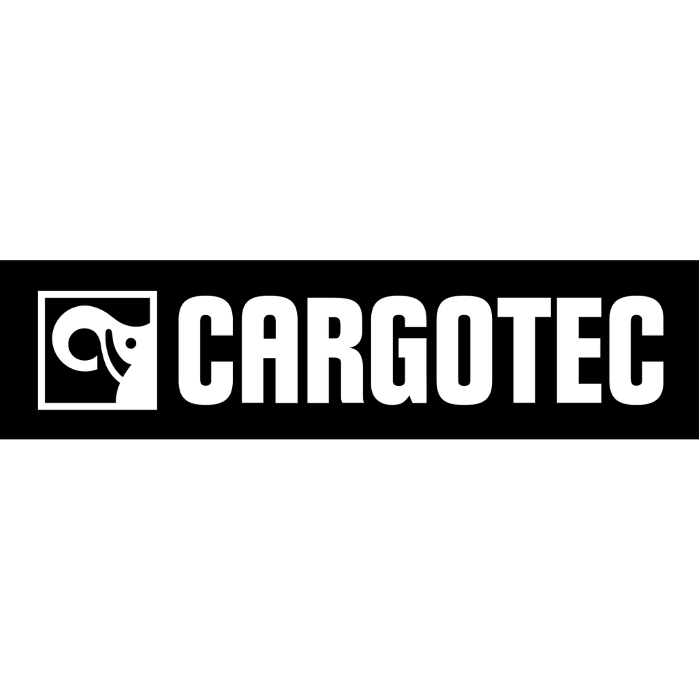 Cargotec logo black and white transparent png