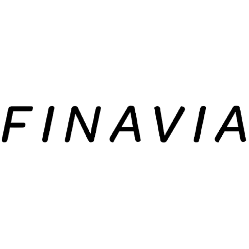 Finavia logo black and white transparent png