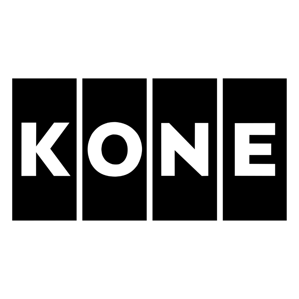 Kone logo black and white transparent png