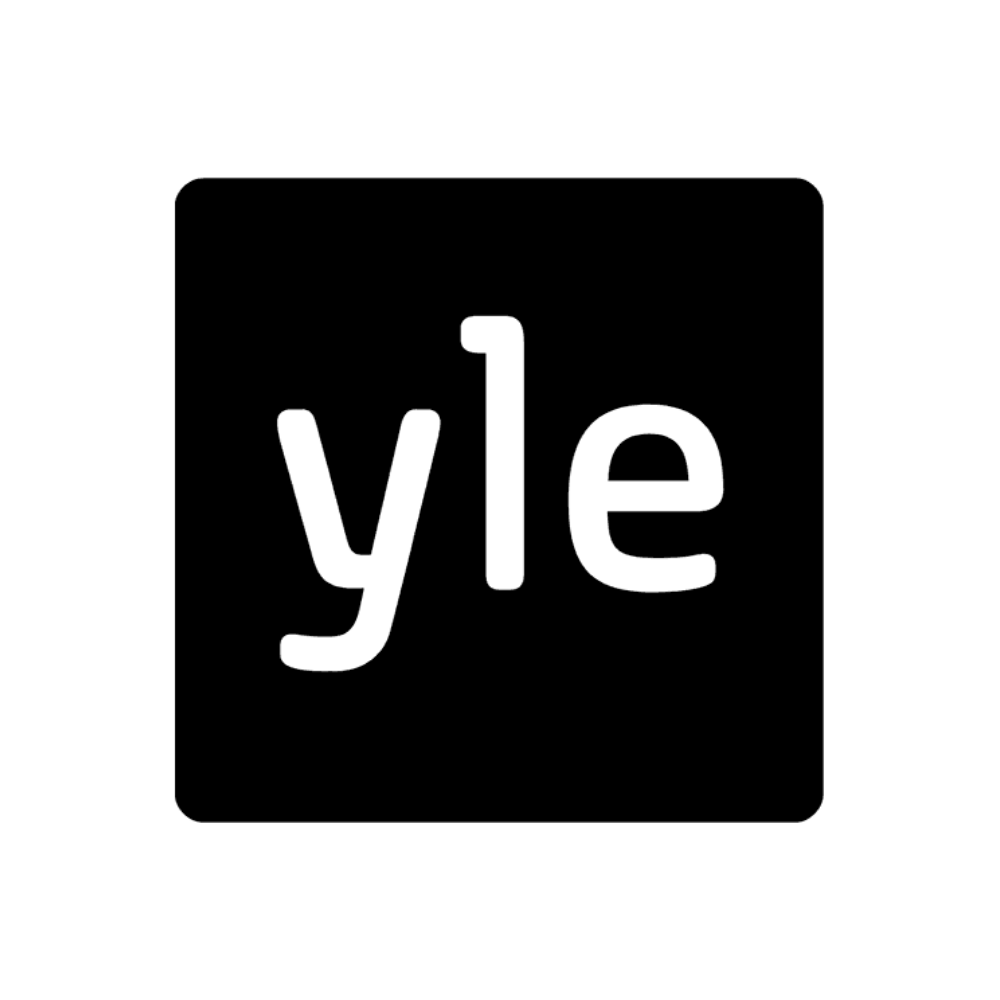 Yle logo black and white transparent png