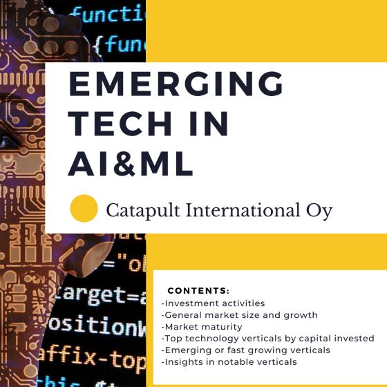 Emerging tech in AI/ML