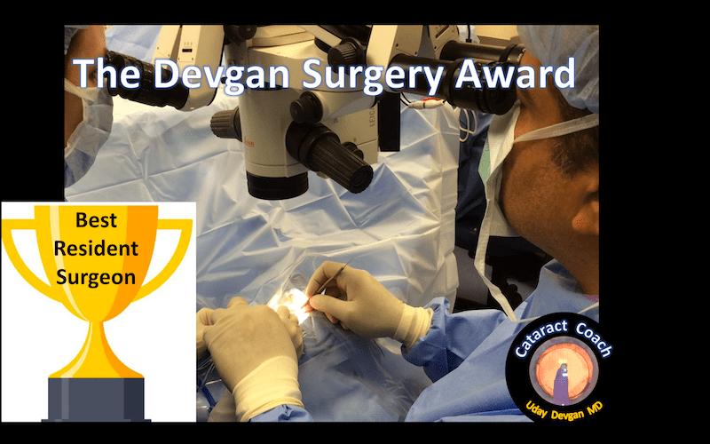 The Devgan Surgery Award – Cataract Coach