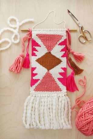 Triangle Wall Weaving