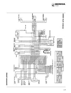 diagram KELISTRIKAN Honda WIN | catatandenidonat