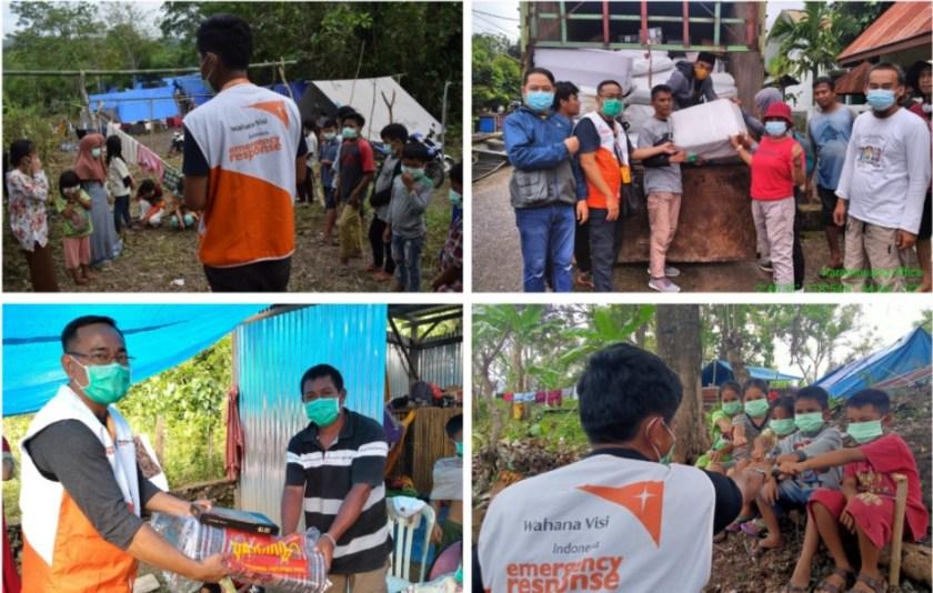 donasi korban gempa bumi sulawesi barat
