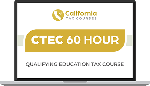 CTEC 60 Hour Qualifying Education Course Image