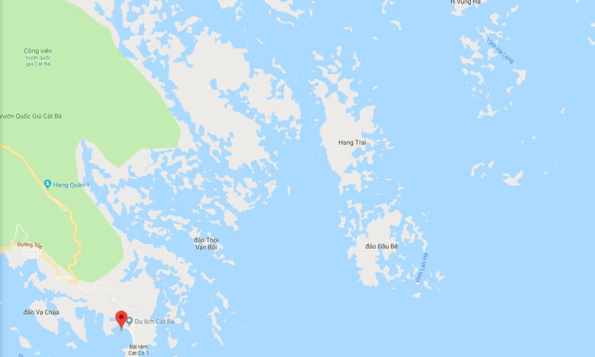 Bản đồ Vịnh Lan Hạ