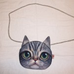 Sam the Cat Chain Bag