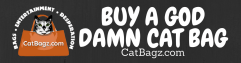 BUY A GOD DAMN CAT BAG 11.5 x 3