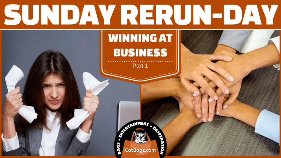 Sunday Rerun-day: Winning At Business, Part 1