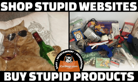 Shop Stupid Websites, Buy Stupid Products: Drunk Cat Presents Carousel of Drunk Products