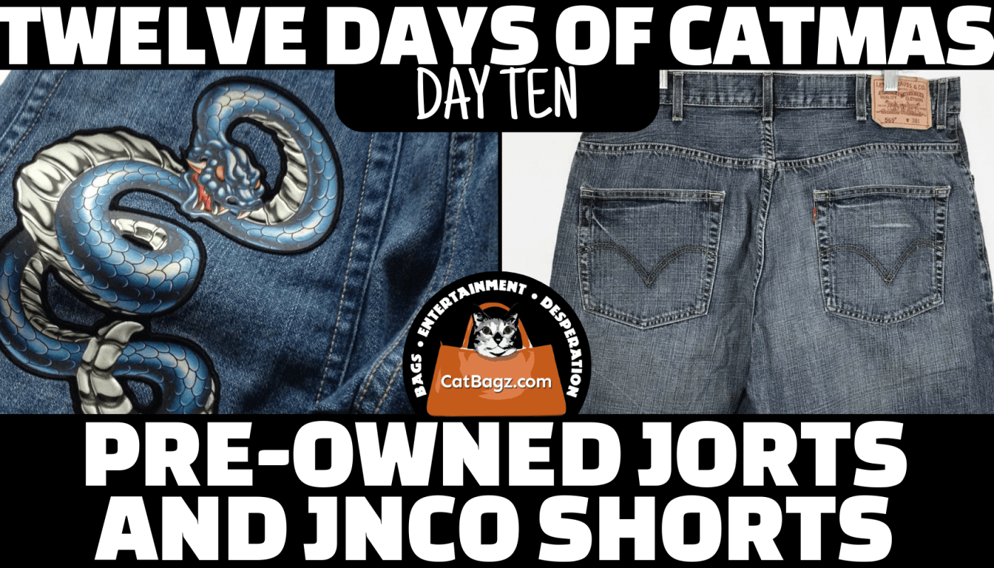 Twelve Days of Catmas - Day Ten - Solid Gold Hits from the Acid Washed Jeans Age