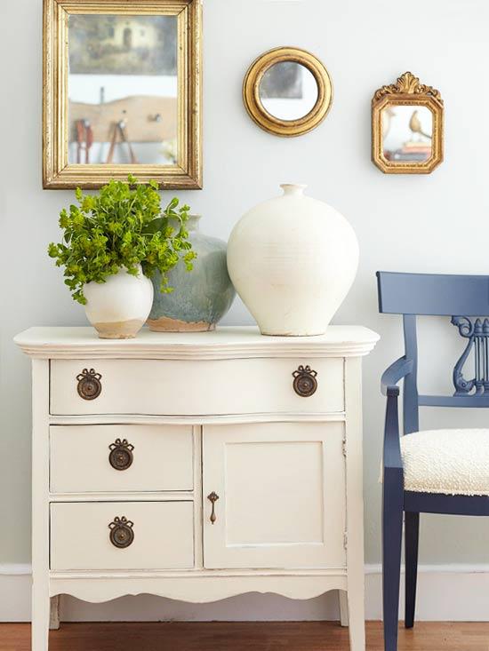 tips menggunakan cat warna putih