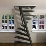 Space saving 1m2 stairs by EeStairs order now online! Configurate the 1m2 stairs the way you want!