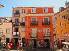 colorful Lisbon