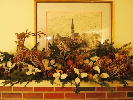 the mantel