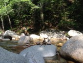 Cairns at Sabbaday Falls